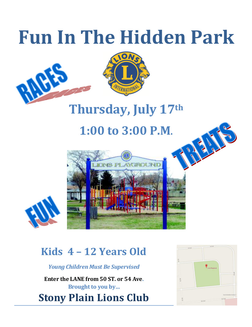 Fun In The Hidden Park 2014